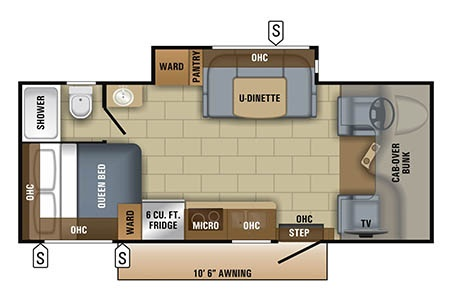 Floor plan - Owasco, C22-24