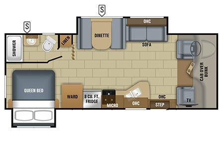 Floor plan - Owasco, C26S