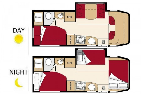 Floor plan - Owasco, C24S Euro
