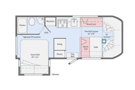 Floor plan - Owasco, C23