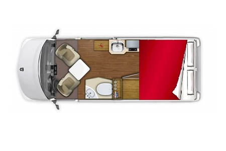 Floor plan - Owasco, Deluxe Van 19