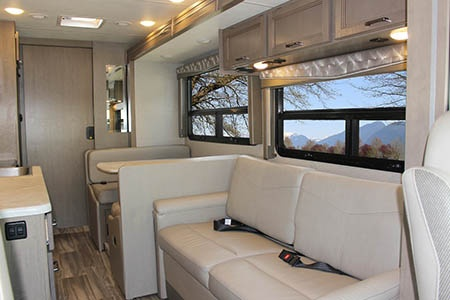 Interior view - Meridian RV, A28-30