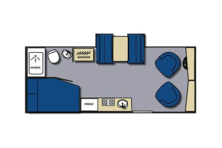 Floor plan - Meridian RV, B23