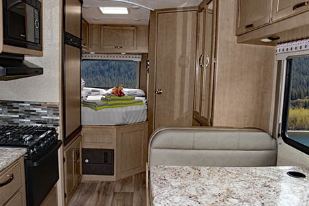 Interior view - Meridian RV, C21-22 Medium