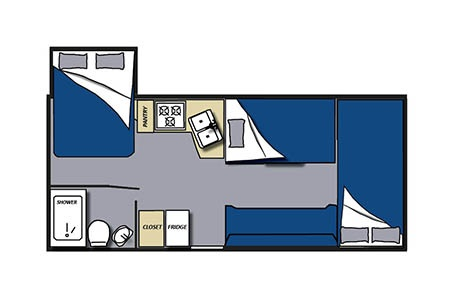 Floor plan - Meridian RV, C23-27 Large