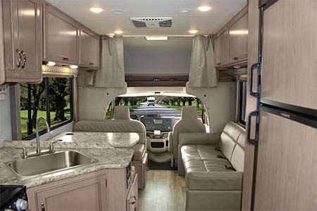Interior view - Meridian RV, C23-27 Large