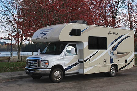 Exterior view - Meridian RV, C21-22 Medium
