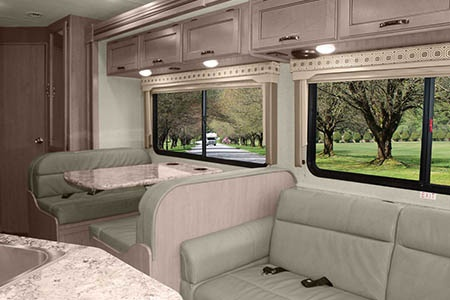 Interior view - Meridian RV, C28-32 XLarge