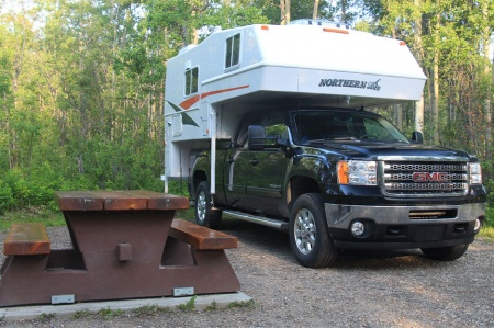 Exterior view - Westcoast Mountain Campers, Maxi Travel Camper TC-A