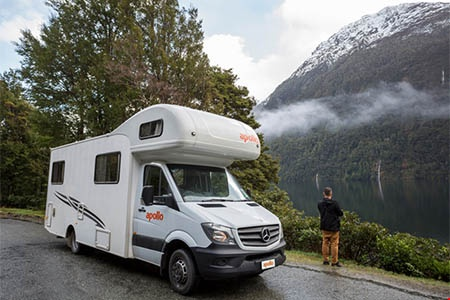Aussenansicht Apollo Motorhome Holidays Euro Deluxe