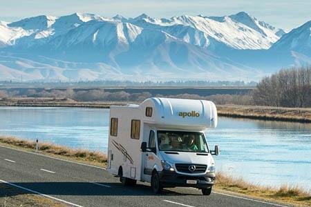 Aussenansicht Apollo Motorhome Holidays Euro Camper