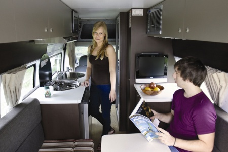 Interior view - Apollo Motorhome Holidays, Euro Tourer