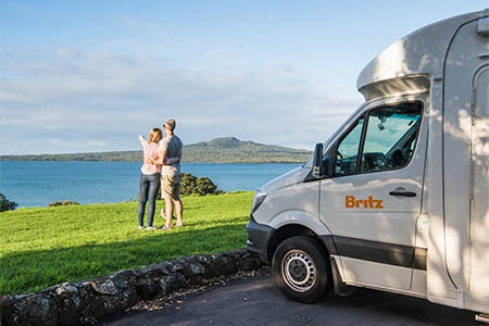 Exterior view - Britz, Discovery Motorhome