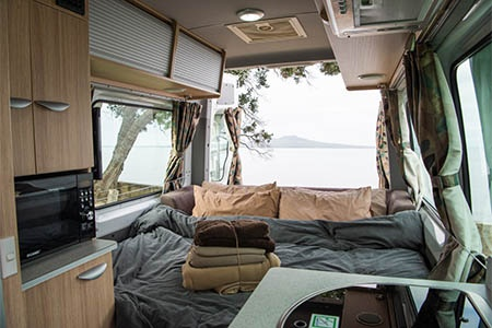 Interior view - Britz, Venturer Plus Camper
