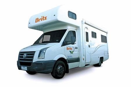 Aussenansicht Britz Vista Motorhome