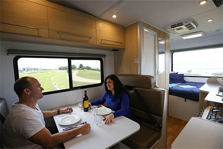 Interior view - Britz, Vista Motorhome