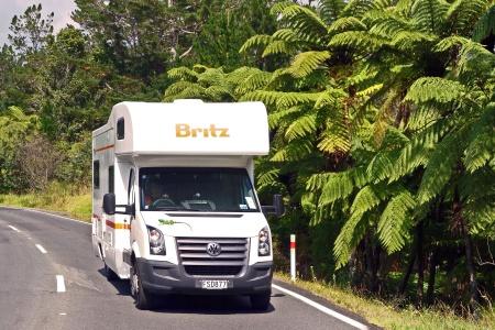 Aussenansicht Britz Explorer Motorhome