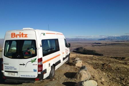 Exterior view - Britz, Venturer Camper