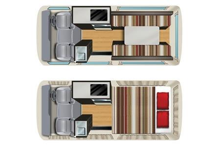 Floor plan - Cheapa Campa, Cheapa Hitop