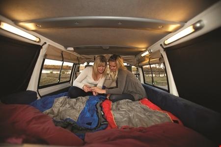 Innenansicht Hippie Camper Hippie Drift