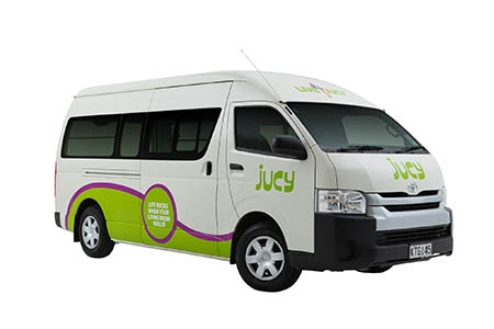 JUCY Rentals campervan hire New Zealand- motorhomebookers