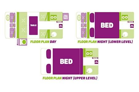 Floor plan - JUCY Rentals, Condo