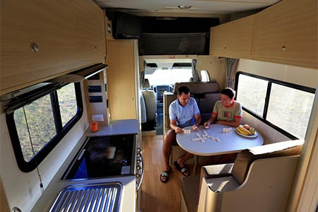 Interior view - Mighty Campers, Big Six