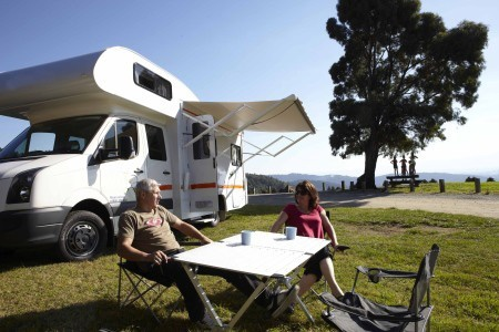 Aussenansicht Mighty Campers Big Six NZ