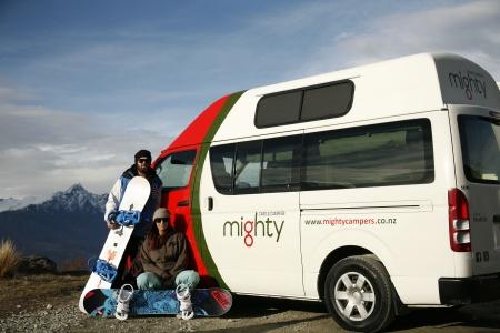 Aussenansicht Mighty Campers Jackpot