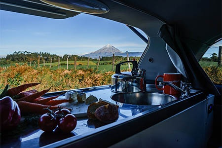Innenansicht Spaceships Neuseeland Dream Sleeper Mini