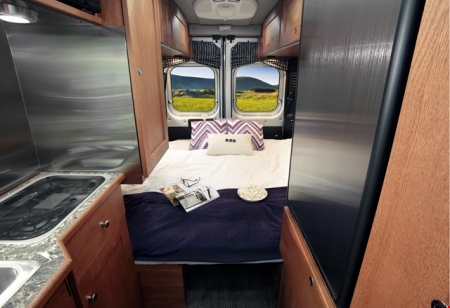 Interior view - Apollo Motorhome Holidays, Van Tourer