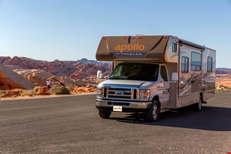 Exterior view - Apollo Motorhome Holidays, Eclipse Camper
