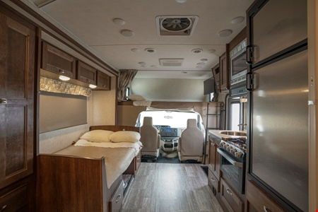 Interior view - Apollo Motorhome Holidays, Pioneer