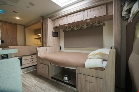 Interior view - Apollo Motorhome Holidays, Sunrise Escape