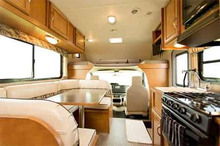 Interior view - Apollo Motorhome Holidays, Pioneer C22 (2018)