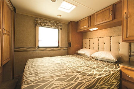 Interior view - Apollo Motorhome Holidays, Eclipse Camper
