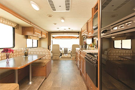 Interior view - Apollo Motorhome Holidays, Elite Traveller