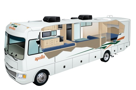 Apollo Motorhome Holidays Elite Traveller