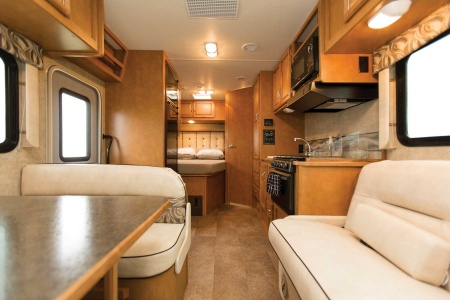 Interior view - Apollo Motorhome Holidays, Pioneer (2017)