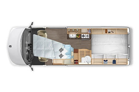 Floor plan - Best Time RV, CL21