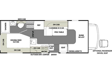 Floor plan - Best Time RV, D22