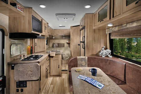 Interior view - Best Time RV, D22