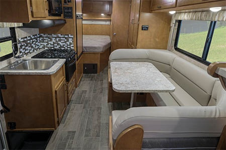 Interior view - Best Time RV, CE23