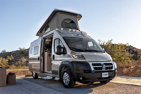 Exterior view - Best Time RV, CL21