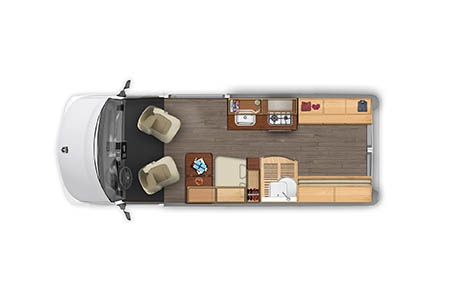 Floor plan - Best Time RV, L21