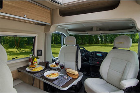 Interior view - Best Time RV, CL21