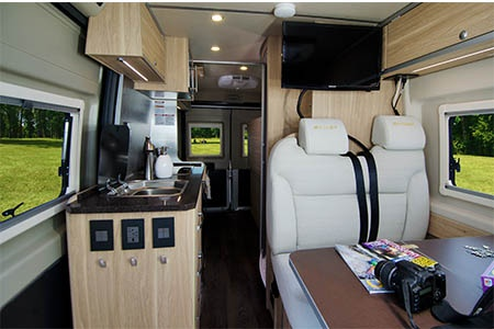 Interior view - Best Time RV, L21