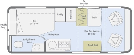 Floor plan - Best Time RV, B21