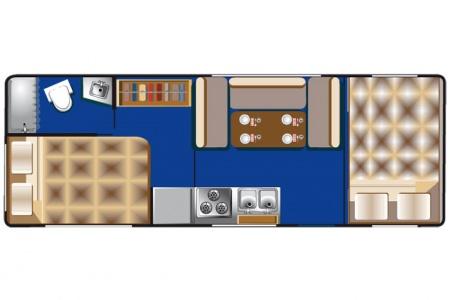 Floor plan - Britz, C21-28