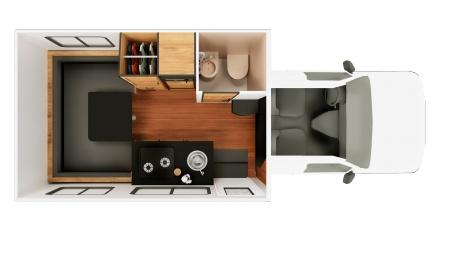 Floor plan - Cruise America, C21